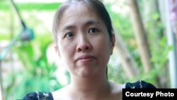 "FILE - Vietnamese blogger Nguyen Ngoc Nhu Quynh, 37, known as ""Me Nam"" (Mother Mushroom) is seen in an undated courtesy photo."