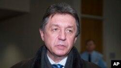 Постпред України в ООН Юрій Сергеєв перед засіданням Ради Безпеки