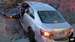 지난 2010년 11월 미국 유타주 웬도버에서 발생한 도요타 캠리 차량의 급발진 추정 사고.