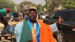 Issoufou Tamboura, Secrétaire à l'Information du MNSD au micro de Bagassi Koura