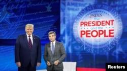 ABD Başkanı Donald Trump ABC News kanalında katıldığı programda halktan gelen soruları yanıtladı.