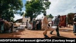 រូបឯកសារ៖ សកម្មភាពការងារទីភ្នាក់ងារសហរដ្ឋអាមេរិកសម្រាប់អភិវឌ្ឍន៍អន្តរជាតិ (USAID) នៅនីហ្សេរីយ៉ា។