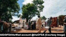 USAID aid for Nigeria. (File)