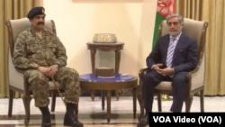 لوی درستیز اردوی پاکستان از بهبود همکاری های نظامی و استخباراتی میان افغانستان و پاکستان ابراز خوشبینی کرد