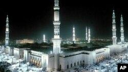 مسجد پیامبر در شهر مدینه