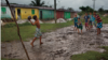 Boys playing soccer. Photo by Caio Vilela.