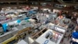 FILE - A general view shows booths at the 2014 Computex exhibition in Taipei World Trade Center, June 4, 2014.