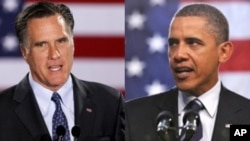 Mitt Romney vs Barack Obama