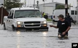 Inondations causées par la Tempête tropicale Lee à la Nouvelle Orléans
