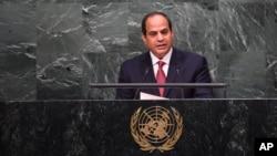 Shugaban kasar Masar Abdel Fattah el-Sissi