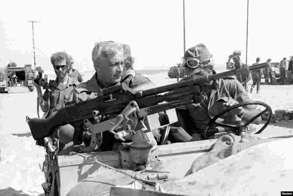 Генерал майор Ариэль Шарон. 1973 год