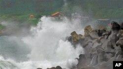 افزایش تلفات از اثر طوفان در جاپان