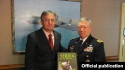 Ministar Rodić i Frenk Gras, šef Biroa Nacionalne Garde