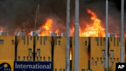 Massive Fire At Kenya's Main Airport