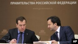 Дмитрий Медведев и Аркадий Дворкович