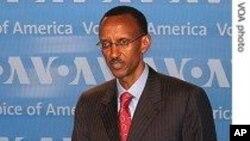 FILE - Rwanda President Paul Kagame.
