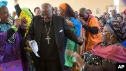 Desmond Tutu, Johannesburg, 4 juillet 2015