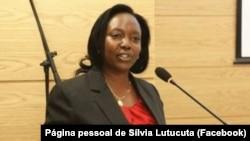 Silvia Lutucuta, ministra da Saúde de Angola