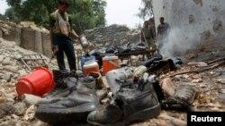 Otro ataque aéreo en Afganistán ha provocado víctimas accidentales, esta vez de soldados afganos.
