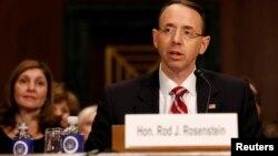 Rod Rosenstein amenazó con renunciar al darse cuenta que la narrativa que emanaba de la Casa Blanca lo presentó como el principal motivador de la decisión de destituir a Comey, según reportes de prensa.