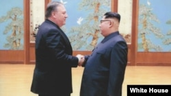 国中央情报局局长蓬佩奥复活节周末访问朝鲜
