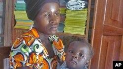 剛果婦女兒童受到政府軍威脅。