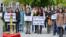 Một cuộc tuần hành vì nhân quyền cho Việt Nam của cộng đồng người Việt tại Canada. (Ảnh chụp từ Youtube Thu Tran)