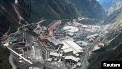 Wilayah pertambangan yang dioperasikan perusahaan Freeport-McMoran Cooper & Gold Inc. di Papua (Foto: dok).
