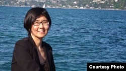 中国维权女律师王宇 (李长青律师微博)