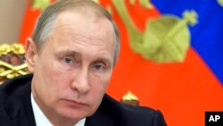 Pemerintah Rusia di bawah Presiden Vladimir Putin menerapkan aturan ketat terhadap LSM-LSM asing atau LSM yang didanai pihak asing.