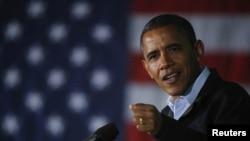 President Obama dalam salah satu kampanyenya di Ohio (Foto: dok). Dalam pidato mingguannya, Obama meyakinkan para korban bahwa negara mendukung mereka dengan memberikan bantuan untuk pemulihan kembali pasca badai Sandy.