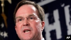 FILE - Michigan Attorney General Bill Schuette.