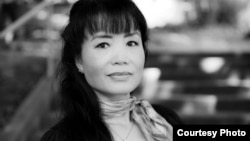 """Cambodian-American author Him Chanrithy is hoping to reach a global audience with her new novel tentatively titled """"Rise of the Golden Aura."""""""