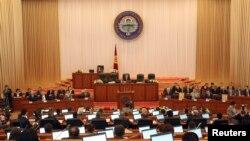 키르기스스탄 의회 (자료사진)