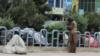 نگرانیها از وجود معتادان در جادههای شهر مزار شریف