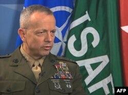 Afg'onistondagi xalqaro koalitsiya qo'mondoni general Jon Allen