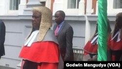 Umkhokheli wekhomisheni ye Judicial Services Commission, u Chief Justice Luke Malaba