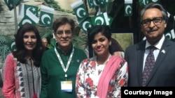 تقریب میں پاکستانی سفیر جلیل عباس جیلانی بھی شریک ہوئے