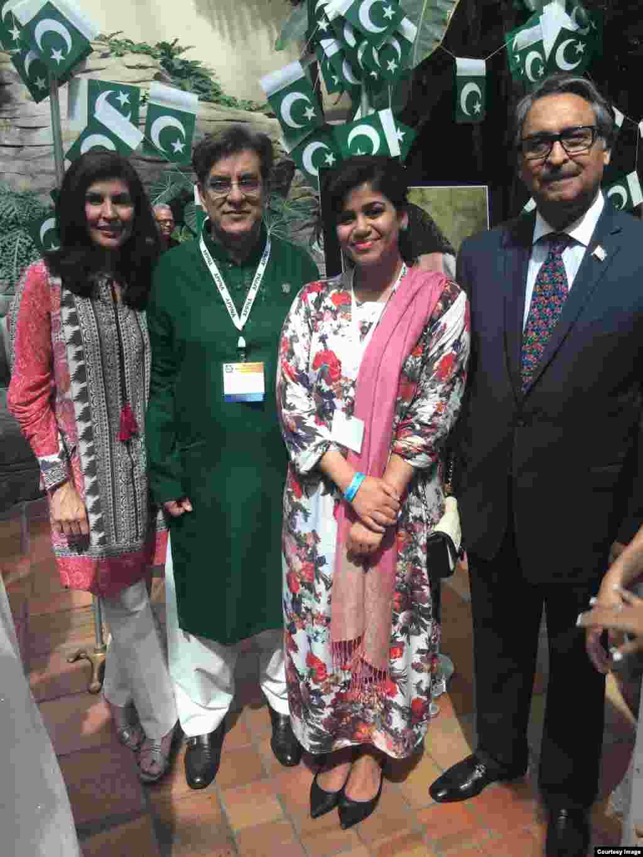 امریکہ میں پاکستان کے سفیر جلیل عباسی جیلانی نے بھی کنونشن میں شرکت کی