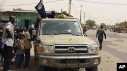 Wapiganaji wa moja ya vikundi vyenye silaha nchini Mali.