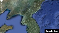 Google interactive map of North Korea