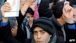 Демонстрация с требованием свободы печати