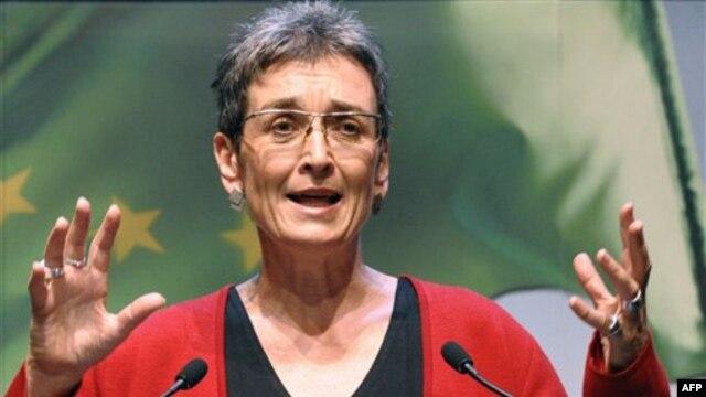 Izvestilac Evrospkog parlamenta za Kosovo, poslanica stranke Zelenih Austrije, Ulrike Lunaček.