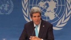 جان کری: ايران به نغيير اوضاع در سوريه کمک کند