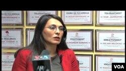 Vanja Ćalović, direktorka nevladine organizacije MANS