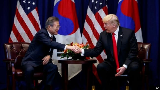 美韩峰会4月11日举行 推动朝鲜去核外交努力