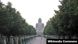 Tượng Phật ở Bồ Đề Đạo Tràng