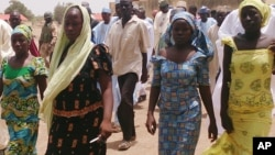 Une galerie de photos de l'école secondaire publique de Cibok, où plus de 200 filles ont été enlevées par des hommes armés.
