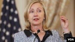Menteri Luar Negeri Amerika Serikat Hillary Clinton mengatakan DK PBB gagal menjalankan kewajibannya untuk Suriah (foto:dok).