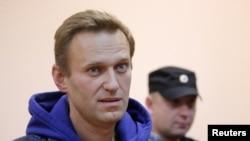 Алексей Навальный в суде. Москва. 24 сентября 2018.